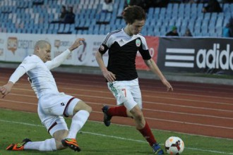 "Jānim Ikauniekam <i>hat-trick</i>, ""Liepāja"" grauj ar 5:0"