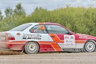 Andis Neikšāns izcīna pirmo uzvaru Latvijas rallija čempionātā ar BMW