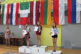 Dambretiste Česnokova - U16 Eiropas čempione