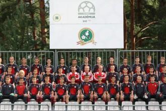 LMT Futbola akadēmijas talantu skates programmu Staicelē šogad noslēdz U-14 futbolisti