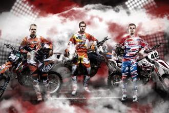 Ceturtdien tiks prezentēta Latvijas izlase Nāciju motokrosam