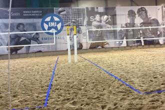"""""""O-Sands"""" pludmales volejbola hallē uzsākta treniņu grupu komplektēšana"""