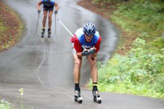 Priekuļos Latvijas čempionāts rollerslēpošanā