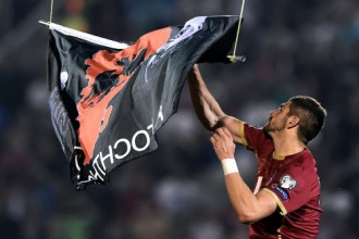Oficiāli: Albānijai tehniskais zaudējums, Serbijai atņem trīs punktus