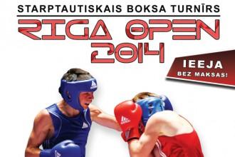 """Notiks gadskārtējais boksa turnīrs """"Rīga Open"""""""