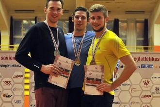 Edgars Eriņš uzvar Latvijas čempionātā daudzcīņās