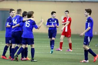 Rīgas futbolisti pēc sāncenšu klupieniem uzvar LFF Futbola akadēmijas U-14 reģionu izlašu turnīrā