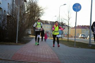 116 ultramaratonisti saziedo 1353 eiro Undīnes veselībai