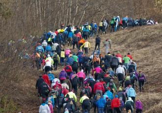 Foto: Siguldas kalnu maratona eksotika