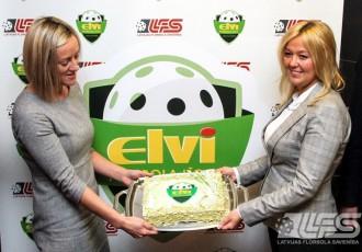 Foto: Par Latvijas Florbola Virslīgas ģenerālsponsoru kļūst ELVI