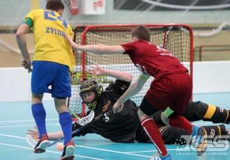 """Foto: """"Latvija U19"""" pret """"Jelgavas novadu"""" gūst 16 vārtus"""