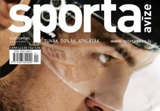"""Iznācis pirmais """"Sporta Avīze"""" mēneša žurnāls"""