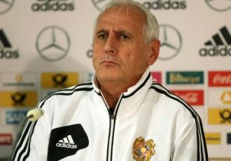 """Armēņu treneris: """"Jāspēlē uzbrūkoši - vai tā būtu Latvija, vai Dānija"""""""