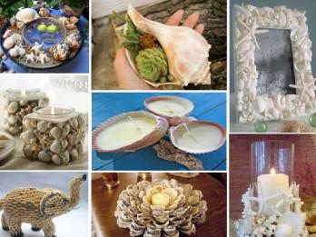 Foto: 25 interesantas dekorācijas no gliemežvākiem