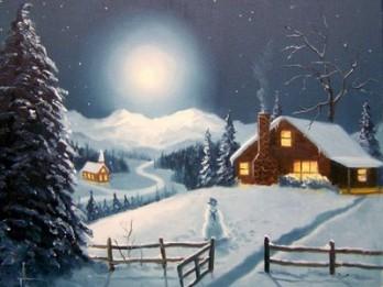Ziemassvētki latviešu tautas dziesmās