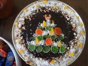 Ātri pagatavojamā Adventes biezpiena kūka