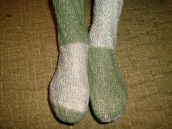 Kā noadīt zeķes bez papēža