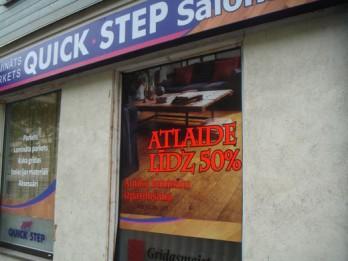 Lielā izpārdošana ir klāt! Atlaides līdz 50% antīkajiem laminātu veidiem no Quick-step, Hercules un Loc floor