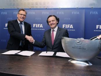 Taittinger kļuvis par oficiālo FIFA šampanieti!