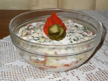 Mani Valentīndienas kārtainie salāti ar vasaras garšu