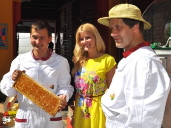 Nogaršots pirmais šā pavasara - pūpolu medus