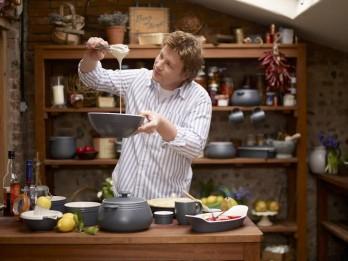 Atraktīvais un populārais pavārs Džeimijs Olivers nosvinējis savu 40 gadu jubileju