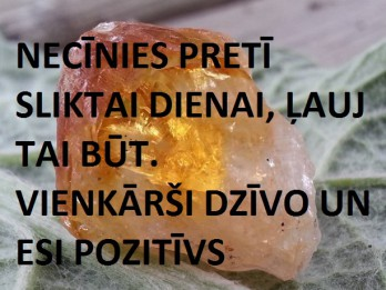 9.janvāra dienas akmens- CITRĪNS