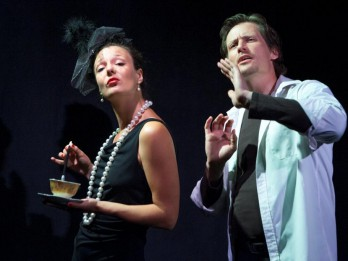 Dramaturgu teātra izrāde Liepupes tautas namā