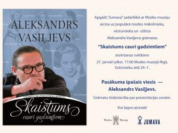 """Apgādā """"Jumava"""" klajā nācis jauns Aleksandra Vasiļjeva izdevums par modi  """"Skaistums cauri gadsimtiem"""""""