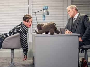 """Dailes teātris ar izrādi """"Ziloņa dziesma"""" viesosies Alūksnē"""