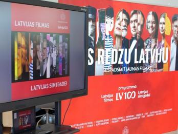 "Programma ""Latvijas filmas Latvijas simtgadei"" ir atklāta"