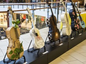 """Atklāta mūzikas un mākslas festivāla """"Bildes 2017"""" izstāde """"Instrumenti. Pārvērtības"""""""