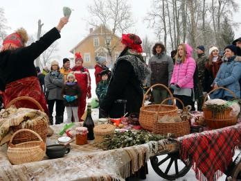 Kopjot senās tradīcijas - Mārtiņdiena Turaidā