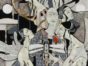 """Roberta Koļcova personālizstāde """"Netiešā Komunikācija"""" mākslas galerijā """"PUTTI"""""""