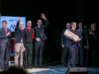 Valmieras teātrī sveic labākos māksliniekus un iestudējumus