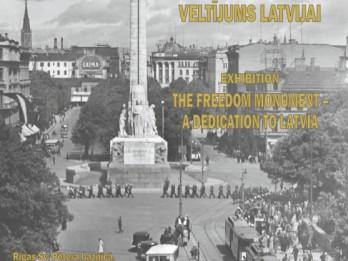 """Fotoizstāde """"Brīvības piemineklis - veltījums Latvijai"""""""