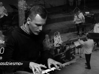 Ata Andersona solokoncerts un Nacionālo bruņoto spēku bigbenda «Tautasdziesma»
