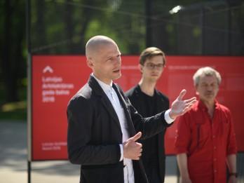 Arhitektūras nedēļa iesākusies ar Latvijas Arhitektūras gada balvas 2018 nominantu izstādes atklāšanu