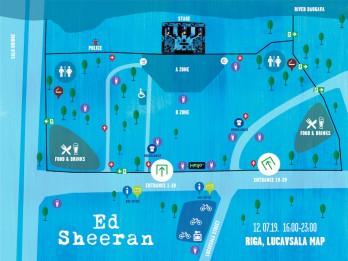 Kas jāzina Eda Šīrana koncerta apmeklētājam
