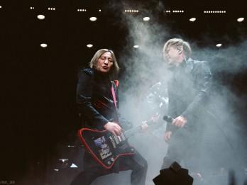 Šobrīd tiešraidē: Arēnā Rīga plānotie BI-2 sniedz bezmaksas koncertu internetā