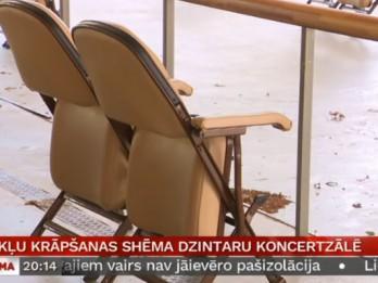 Dzintaru koncertzāles oficiāls paziņojums <i>dārgo krēslu</i> lietā