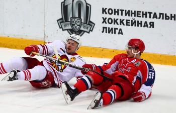 """""""Jokerit"""" un CSKA aizvada ilgāko spēli KHL vēsturē, somi iemet 143. minūtē"""