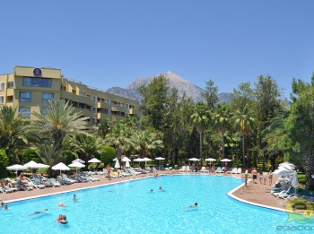 Foto: Corinthia club hotel Tekirova  5* (Turcija, Kemera) ceļotāja acīm. Foto ieskata 1.daļa