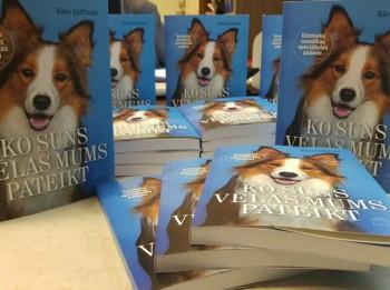 """Izdevniecība """"Avots"""" piedāvā: Sāra Vaitheda """"Ko suns mums vēlas pateikt"""""""