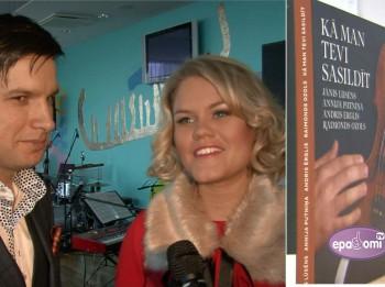 """Video: Jānis Lūsēns dāvā jaunu Ziemassvētku programmu """"KĀ MAN TEVI SASILDĪT"""""""