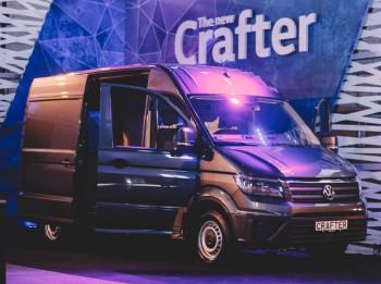 Jaunā Volkswagen Crafter testos izmantoti 700 auto