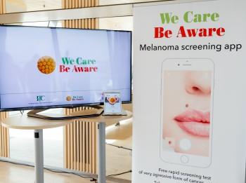 Latvijā izstrādāta mobilā lietotne bezmaksas melanomas skrīninga testa veikšanai