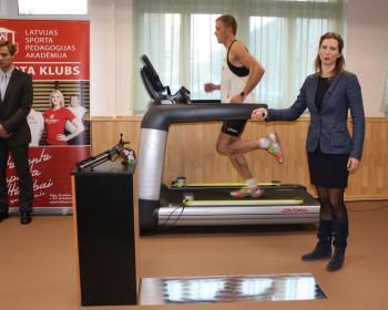LSPA darbu sāk Baltijā pirmā sporta pētniecības laboratorija