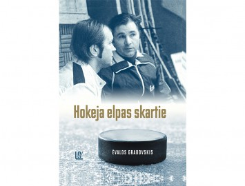"Ēvalda Grabovska grāmata ""Hokeja elpas skartie"""