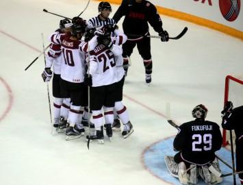 Video: Latvijas izlase ar 3:1 uzvar Japānu